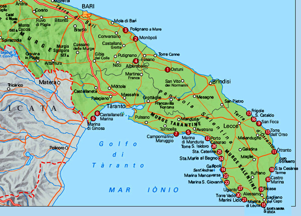 Price index sis property and tourism puglia properties for Houseplans vivente del sud
