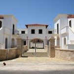 Borgo Cenate front view: villas by the sea for sale in Puglia