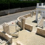 Borgo Cenate entrance gate: villas by the sea for sale in Puglia