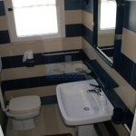 Luxury seafront villa for sale in Italy, Puglia: first floor bathroom