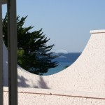 Luxury seafront villa for sale in Italy, Puglia, Salento: first floor view