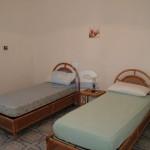 Luxury seafront villa for sale in Italy, Puglia: ground floor twin bedroom