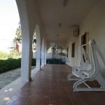 Luxury sea frontvilla for sale in italy, Puglia, Salento: front veranda