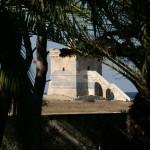 Luxury seafront villa for sale in Italy, Puglia, Salento: coastal tower view