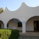 Luxury seafront villa for sale in Italy: veranda