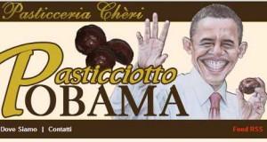 obama cake, pasticciotto obama